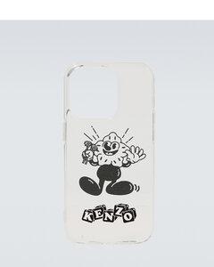 Intrecciato leather clutch bag