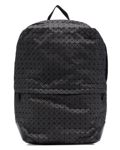 Duffle bag in black with branded inserts