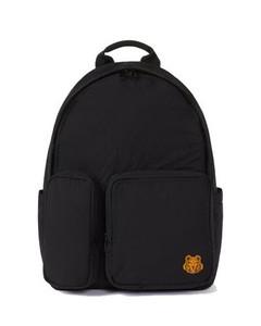 Nylon Tiger Backpack Black