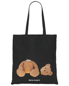 Bear Printed Nylon Tote Bag