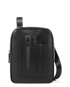 Logo Embossed Leather Cross Body
