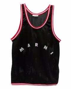 shoulder bag in canvas with big logo