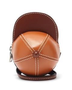 Nano Cap leather cross-body bag