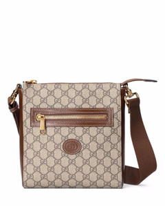 Hackney Zip-Around Clutch Bag in Grey