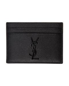 黑色Monogramme卡包