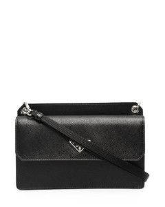 Saffiano leather smartphone bag