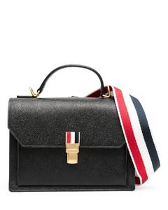 V Logo Leather Belt Bag