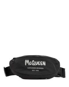 woven leather holdall