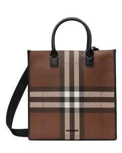 Gg Supreme Small Leather Tote Bag