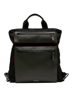 nylon crossbody bag with Icon logo