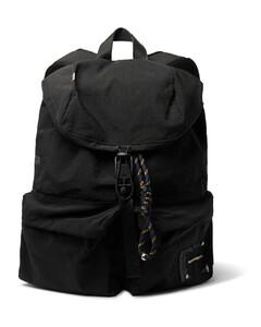 Logo-Appliquéd Canvas Backpack