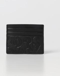 Half-Zip Lanyard Wallet in Black