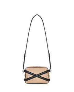 Logo Print Belt Bag in Black