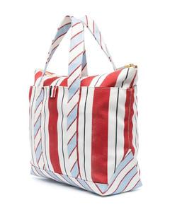 Black nylon blend crossbody bag