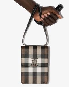Robin check-pattern bag
