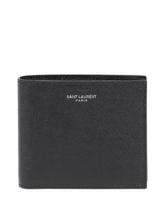 debossed-logo wrist strap pouch