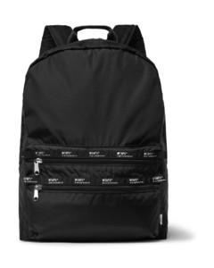 Logo-Appliquéd Ripstop Backpack