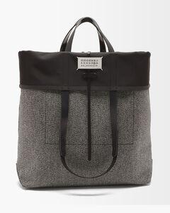 Logo Nylon Crossbody Bag