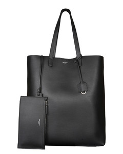 Black leather VLTN wallet
