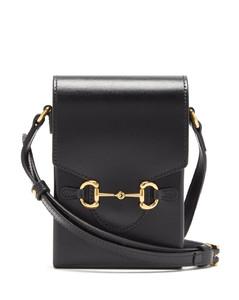 1955 Horsebit micro leather shoulder bag
