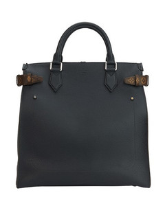 Zipped North South Tote