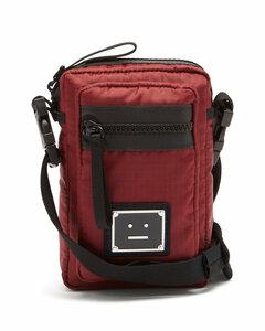 Face ripstop micro cross-body bag