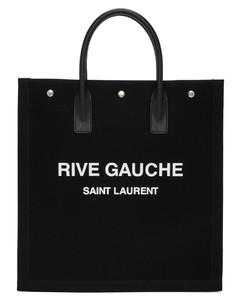 """黑色""""Rive Gauche""""托特包"""