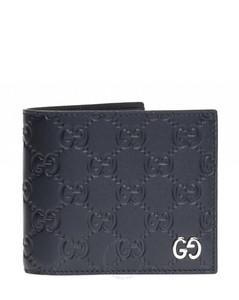 Men's GG Signature Bifold Coin Wallet