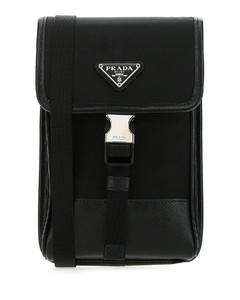 Saffiano Smartphone Crossbody Bag