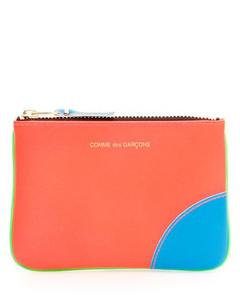 Leather-Trimmed Logo-Print Coated-Canvas Messenger Bag