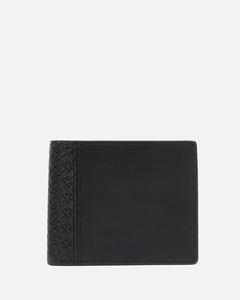FF logo leather bifold wallet