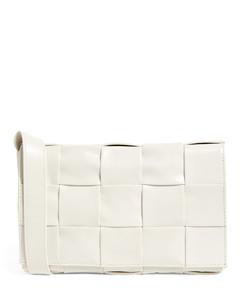 Leather Casette Cross-Body Bag