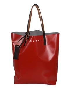 Colour Block Logo Shopper Bag