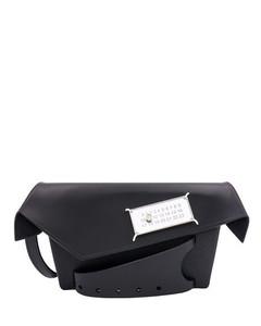 enamel logo pouch bag