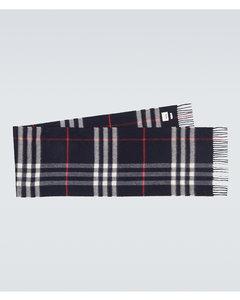 Classic Check羊绒围巾