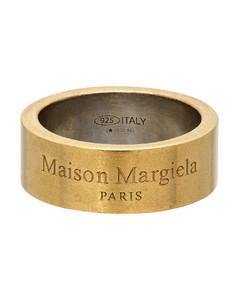 金色徽标戒指