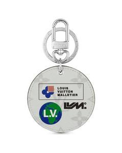 Monogram Logos Illustre Bag Charm and Key Holder
