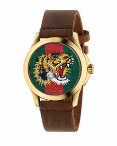 Le Marchédes Merveilles watch 38mm case with Angry Cat pattern