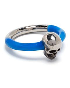 驼色Vintage Check Backpack钥匙扣