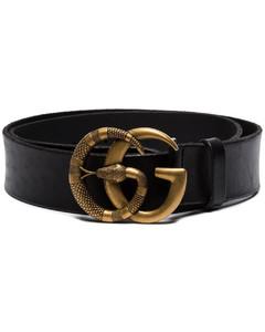 GG蛇形扣环腰带