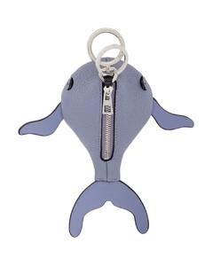 蓝色Paula's Ibiza系列Whale钥匙扣