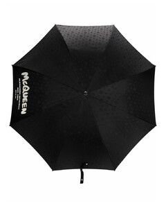 skull-print umbrella