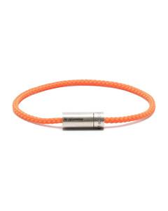 Two Tone Braided & Chain Bracelet