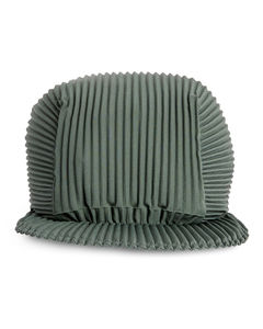 Fleece Bucket Hat in White
