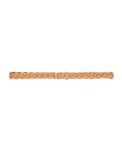 黑色&蓝色Flowers格纹真丝领带