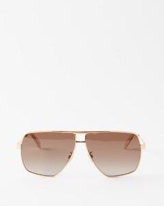 红色&海军蓝Symbols真丝领带