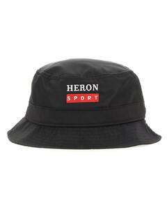 Buko Satin Quilted Bucket Hat in Black