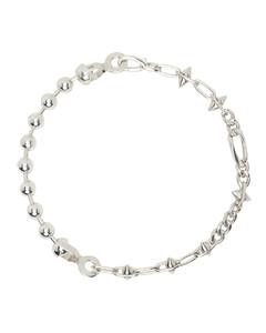 银色&黑色Geometric胸针