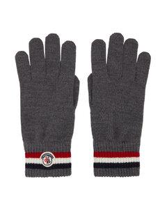 灰色条纹手套