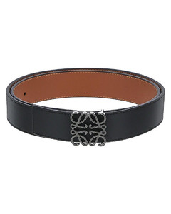 Note cufflinks in silver and black